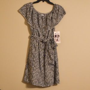 NWT Honey and Rosie animal print dress